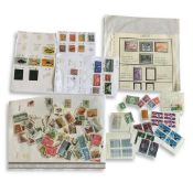 COLLECTION OF ASSORTED BRITISH COMMONWEALTH STAMPS