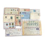COLLECTION OF IRANIAN FIRST DAY COVERS AND LOOSE LEAVES