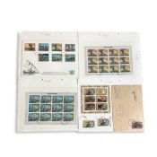 COLLECTION OF COOK ISLANDS STAMPS