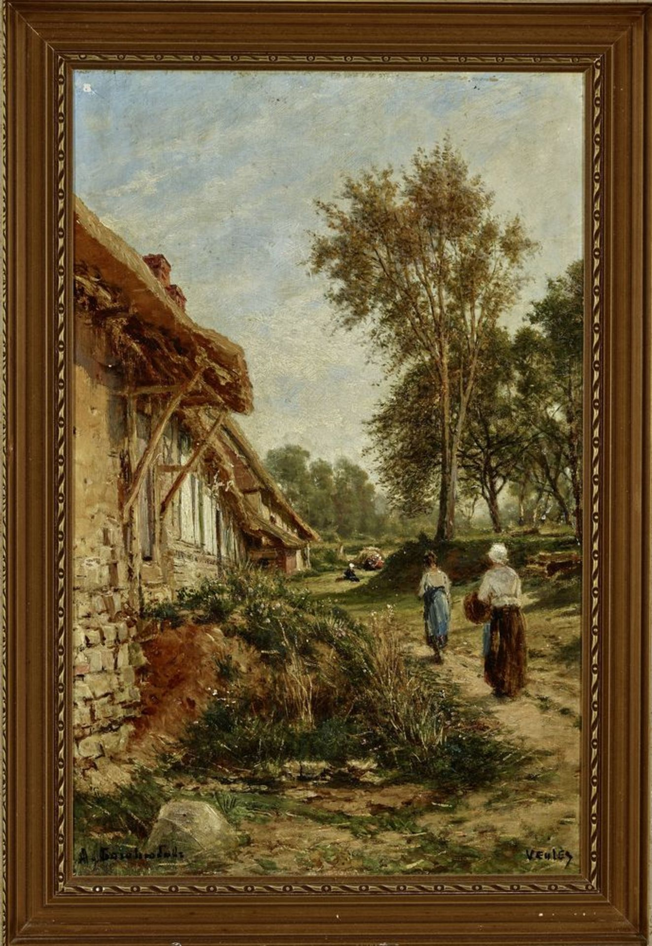 Los 11 - Alexey Petrovich Bogolyubov (1824-1896) - A Summer day in Veules-les-Roses, [...]
