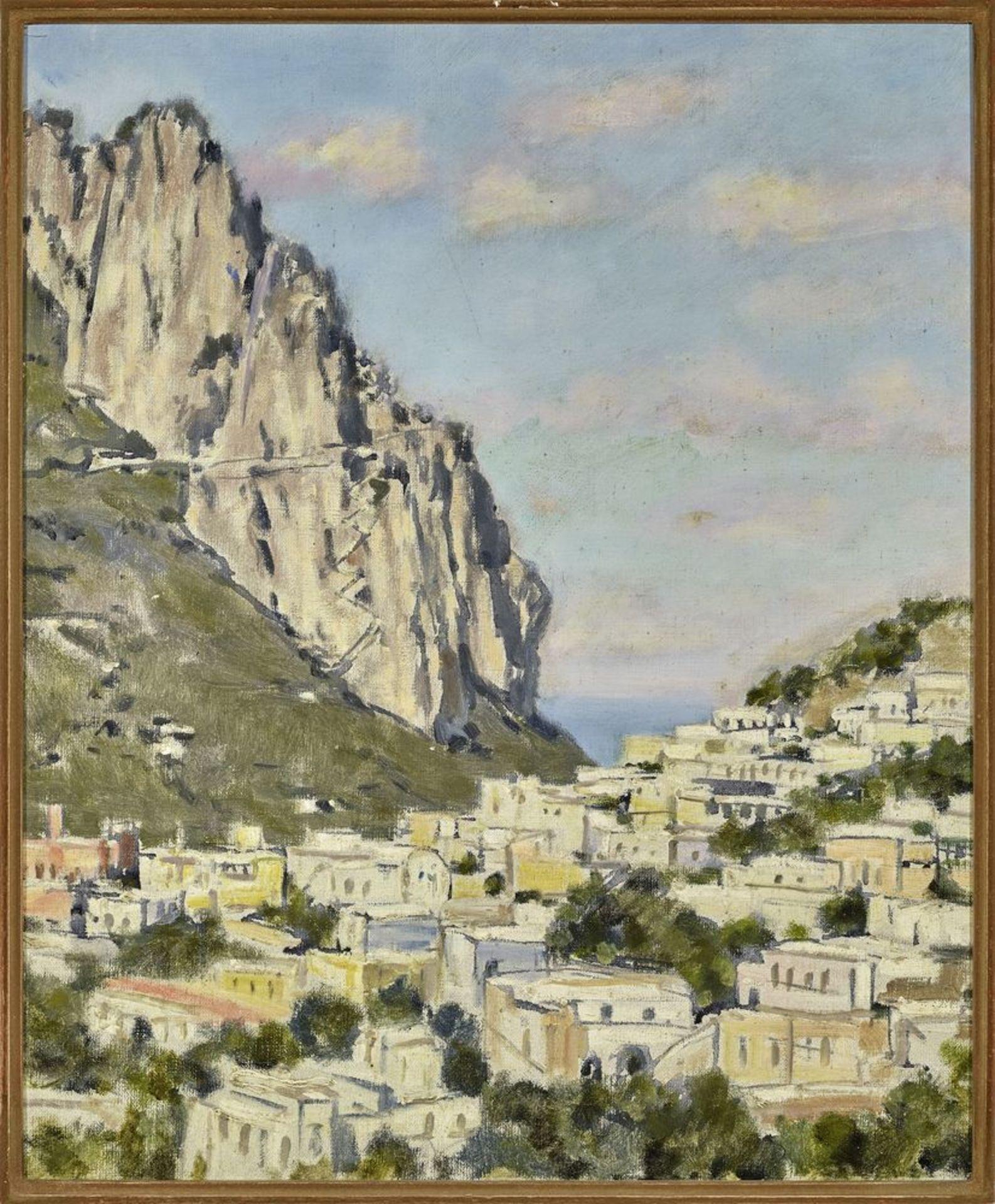 Los 52 - Leonid Romanovich Sologub (1884-1956) - Mediterranean Seascape Signed (on the [...]
