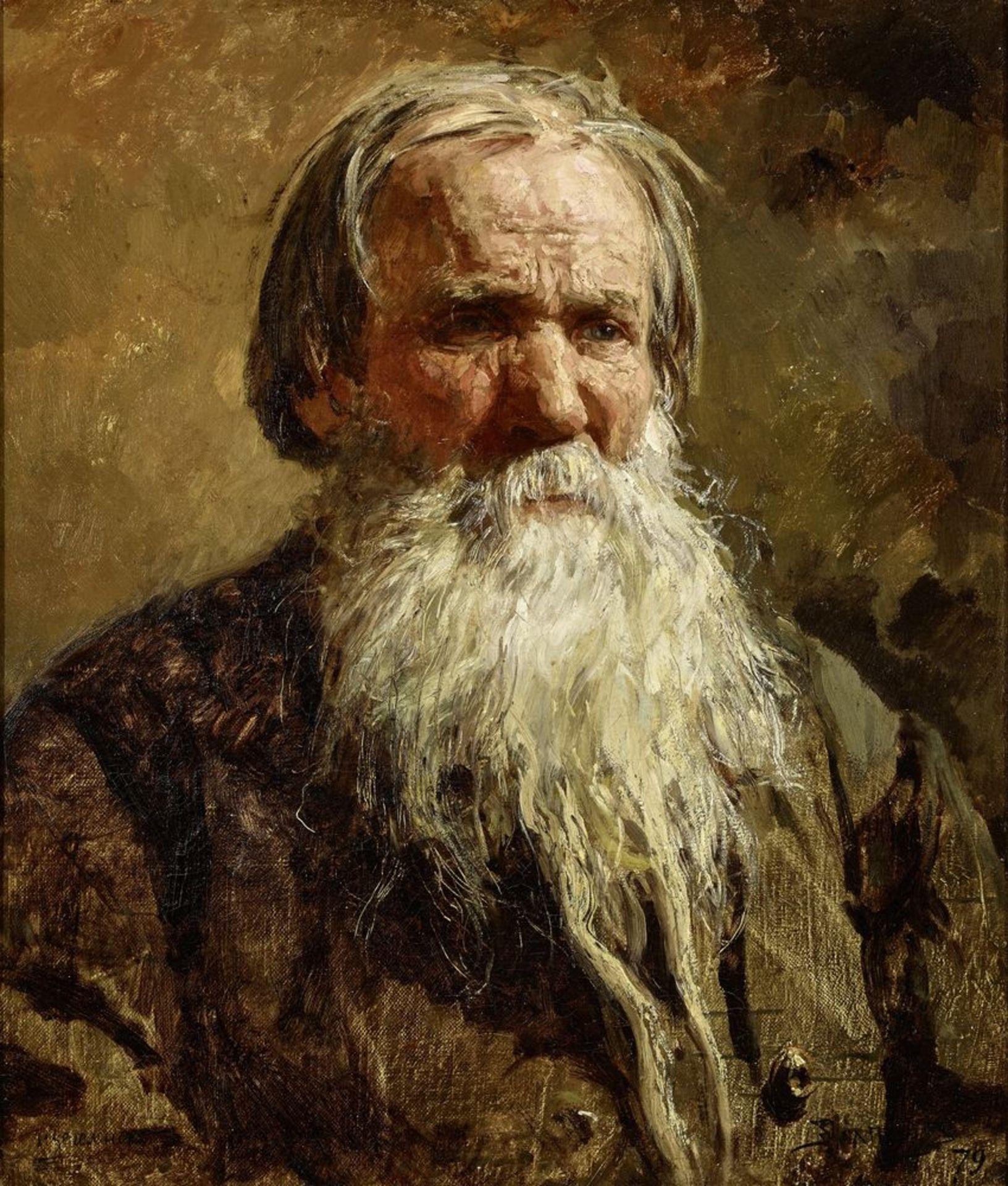 Los 40 - Vasily Dmitrievich Polenov (1844-1927) - Portrait of the Russian folk singer Vasily [...]