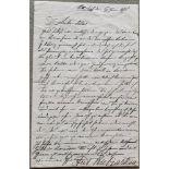 RUBINSTEIN (ANTON). 1829-1894. Autograph letter - Autograph letter to the Dutch [...]