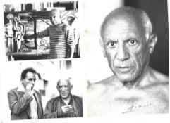 PABLO PICASSO. 1881-1973. The brochure «Die grossen Maler PABLO PICASSO» - 32 [...]