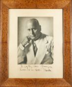 Ghitta Carell (1899-1972) MUSSOLINI (BENITO). «DUCE». 1883-1945. Autographed [...]