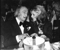SALVADOR DALI. 1904-1989. Photograph Salvador Dalí with Baroness Marie-Helene de [...]