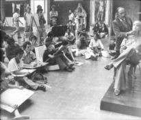 SALVADOR DALI. 1904-1989. Photograph Salvador Dali in the Art School - 08.09.1976 [...]