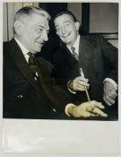 SALVADOR DALI. 1904-1989. Photograph Salvador Dalí and Jean-Louis Tixier-Vignancour [...]