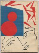 MATISSE HENRI. 1869-1954. Exhibition: [Booklet]. - Osaka 1951. - 59 p.; ill. in [...]