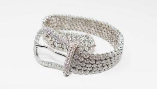 ELEGANT 25 CT BRACELET WITH DIAMONDS - 25ct, Valenza manufacturing (Italy) White [...]