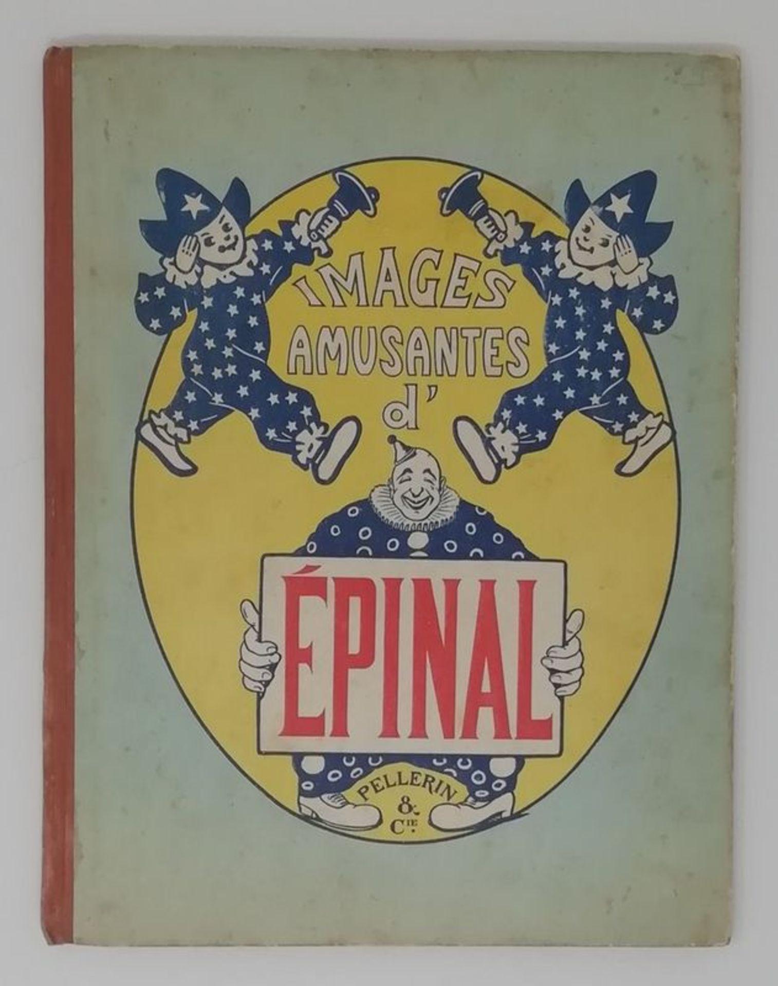 Los 567bis - Pellerin & Cie Images amusantes d'Epinal - 46 stencil watercolour humoristic [...]