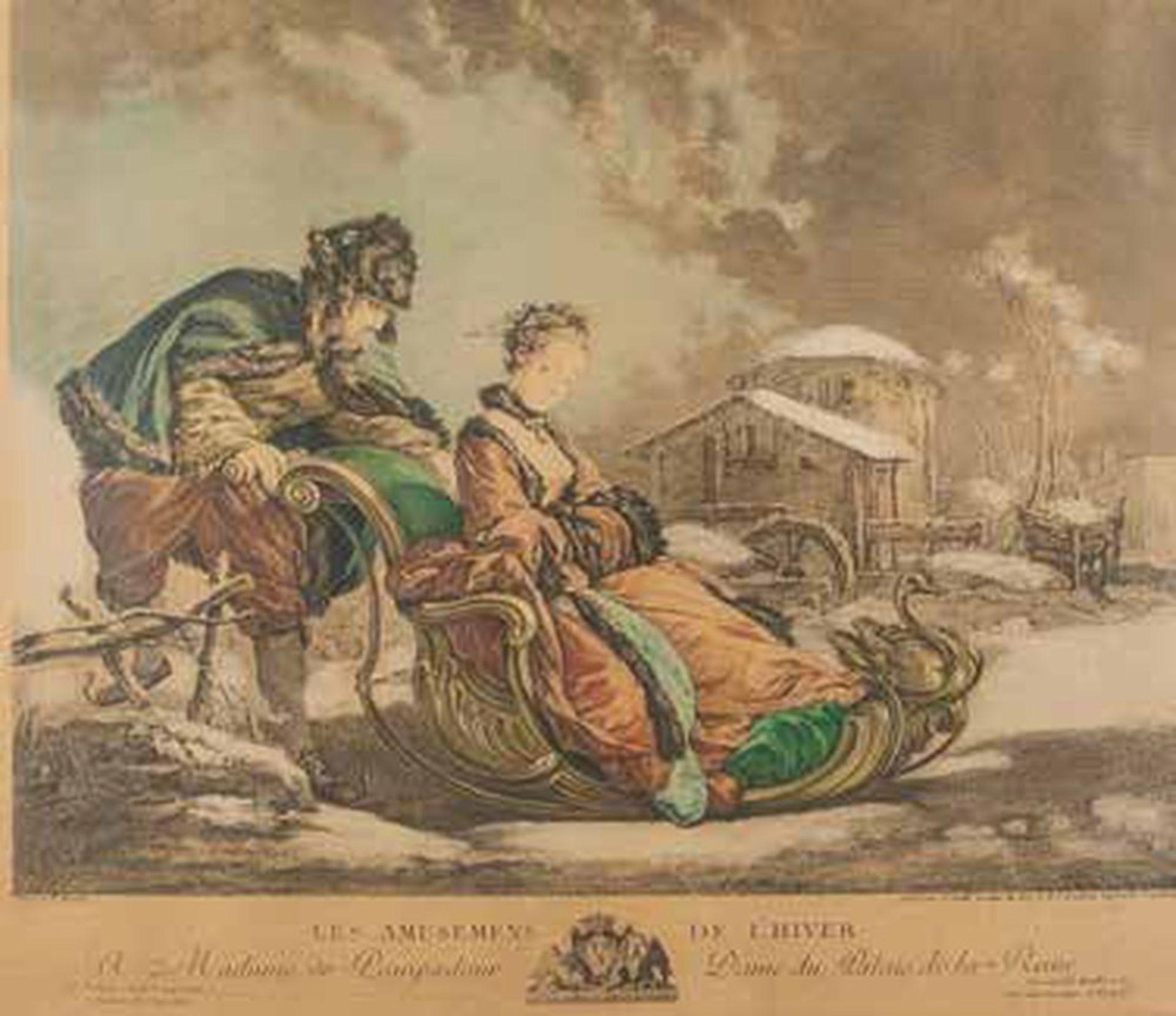 Los 564B - François Boucher (1703-1770) Madame de Pompadour - Les amusements de [...]
