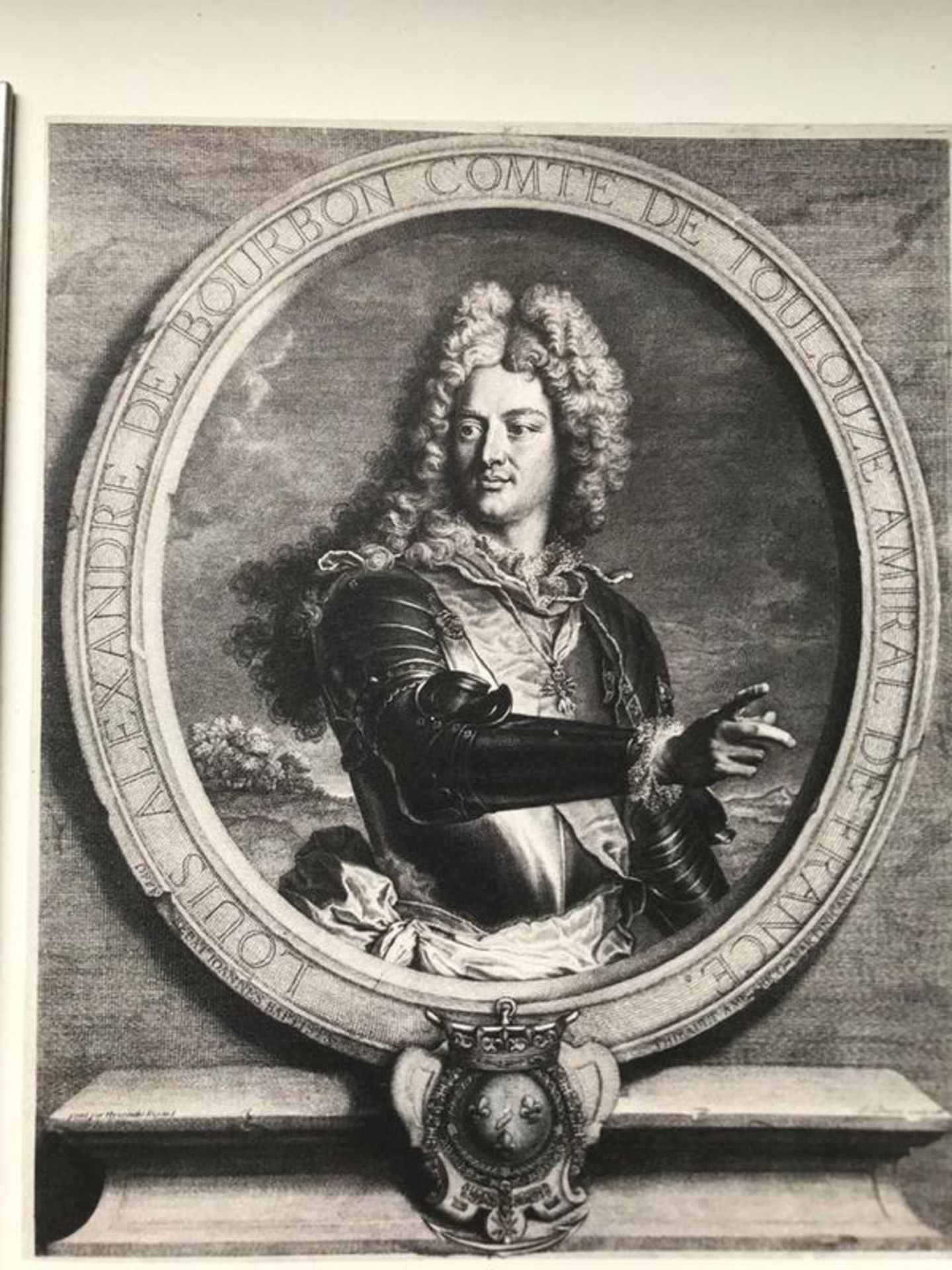 Los 583 - Pierre Drevet Louis Alexandre de Bourdon, count of Toulouse, 1714 - Firmin-Didot [...]