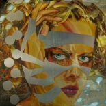 MATTHIAS KÖSTER (B 1961) Nicole Kidman - Mixed media on aluminium under [...]