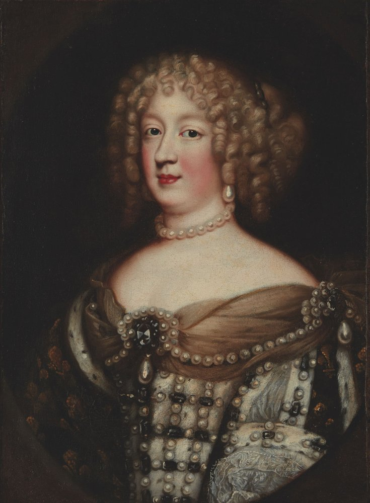 JEAN NOCRET (1615-1672), ATTRIBUTED TO Marie Therese, Queen of France Oil on [...]