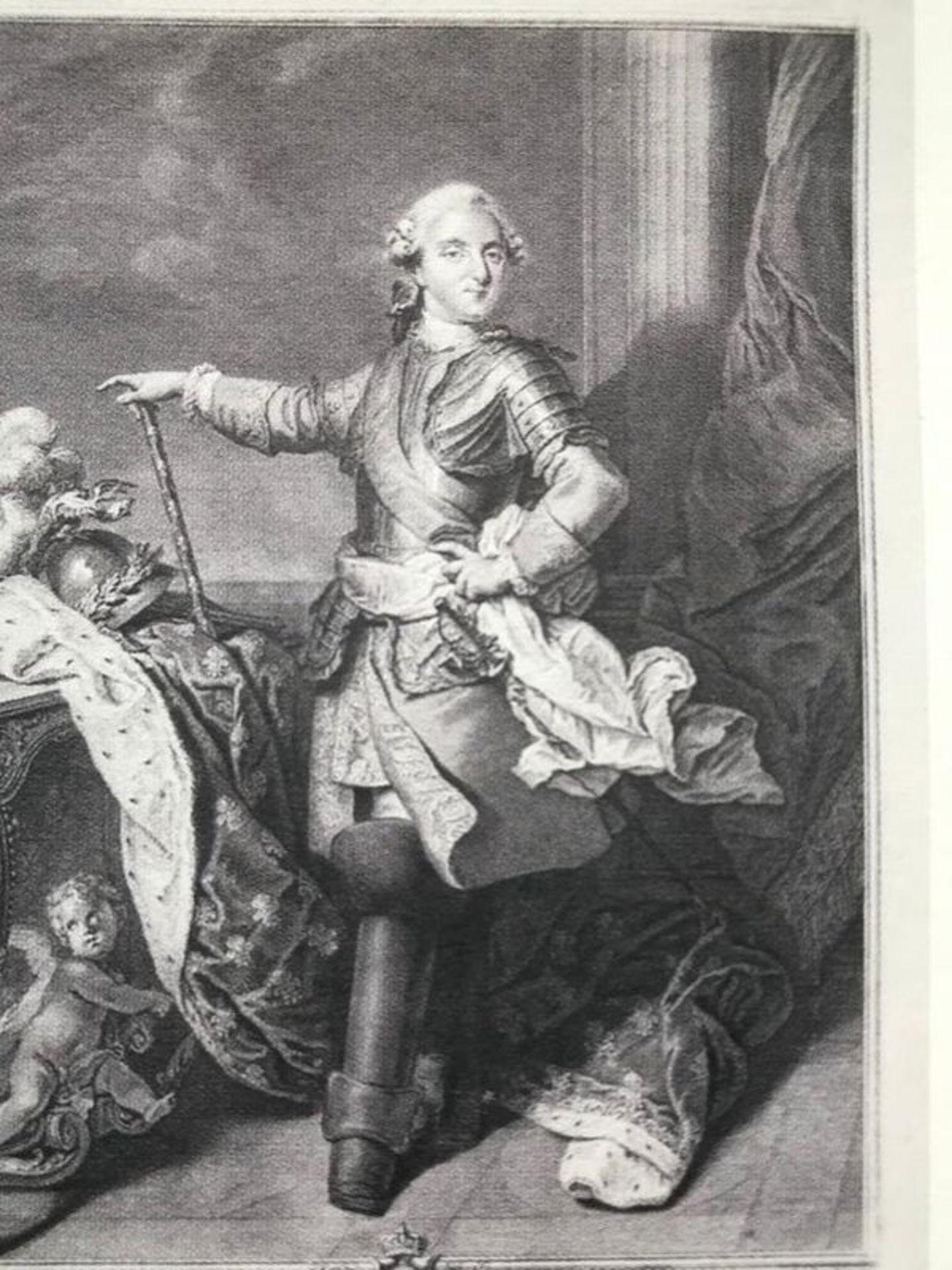 Nicolas Joseph Voyez l'Aine Louis XVI, King of France, engraving - Burin and [...]