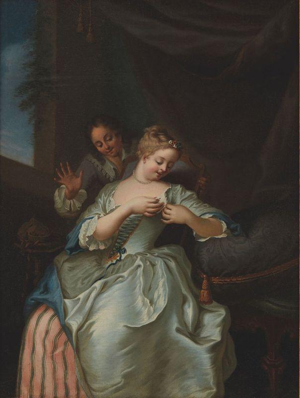 Gaspard de GRESLY (L'Isle-sur-le-Doubs, 1712 - Besançon, 1756) La puceuse [...]
