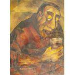 JEAN KRYGER L'Ivrogne (The Drunkard) - Signed and dated 'J Kryger 57' (lower [...]