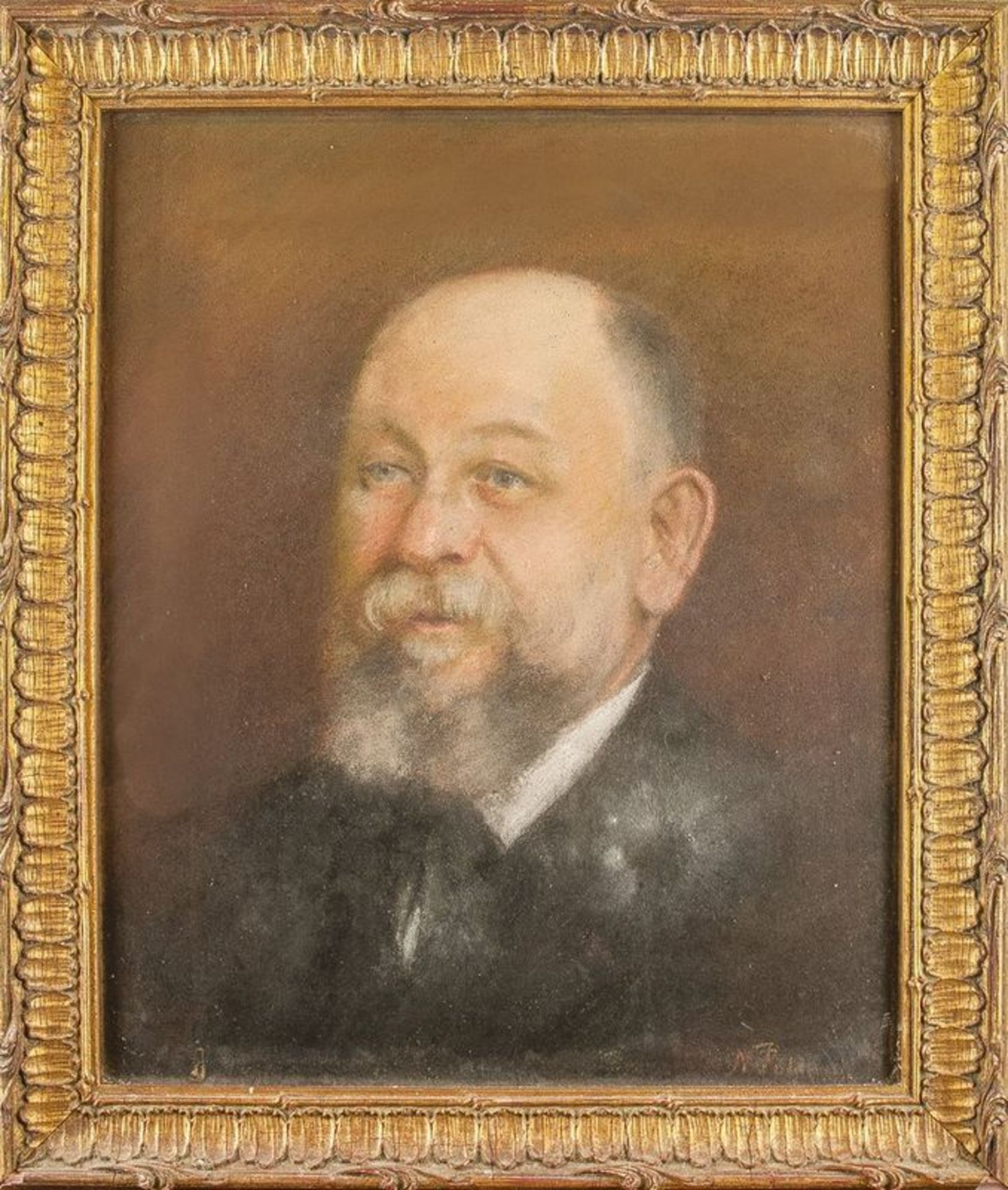 Noemia PALDANI (1842-1906) Portrait of a man - Signed 'N Paldani' (lower [...] - Bild 2 aus 2