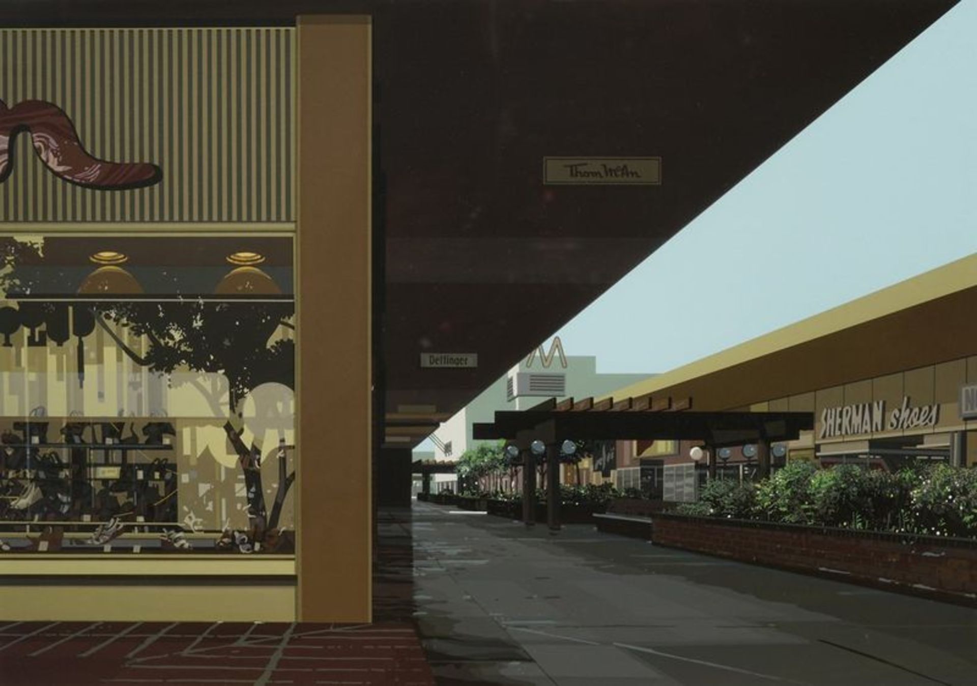 Los 559 - Richard Estes (1932) Urban Landscape III, 1981 5 screenprints, Urban Lanscape III, [...]