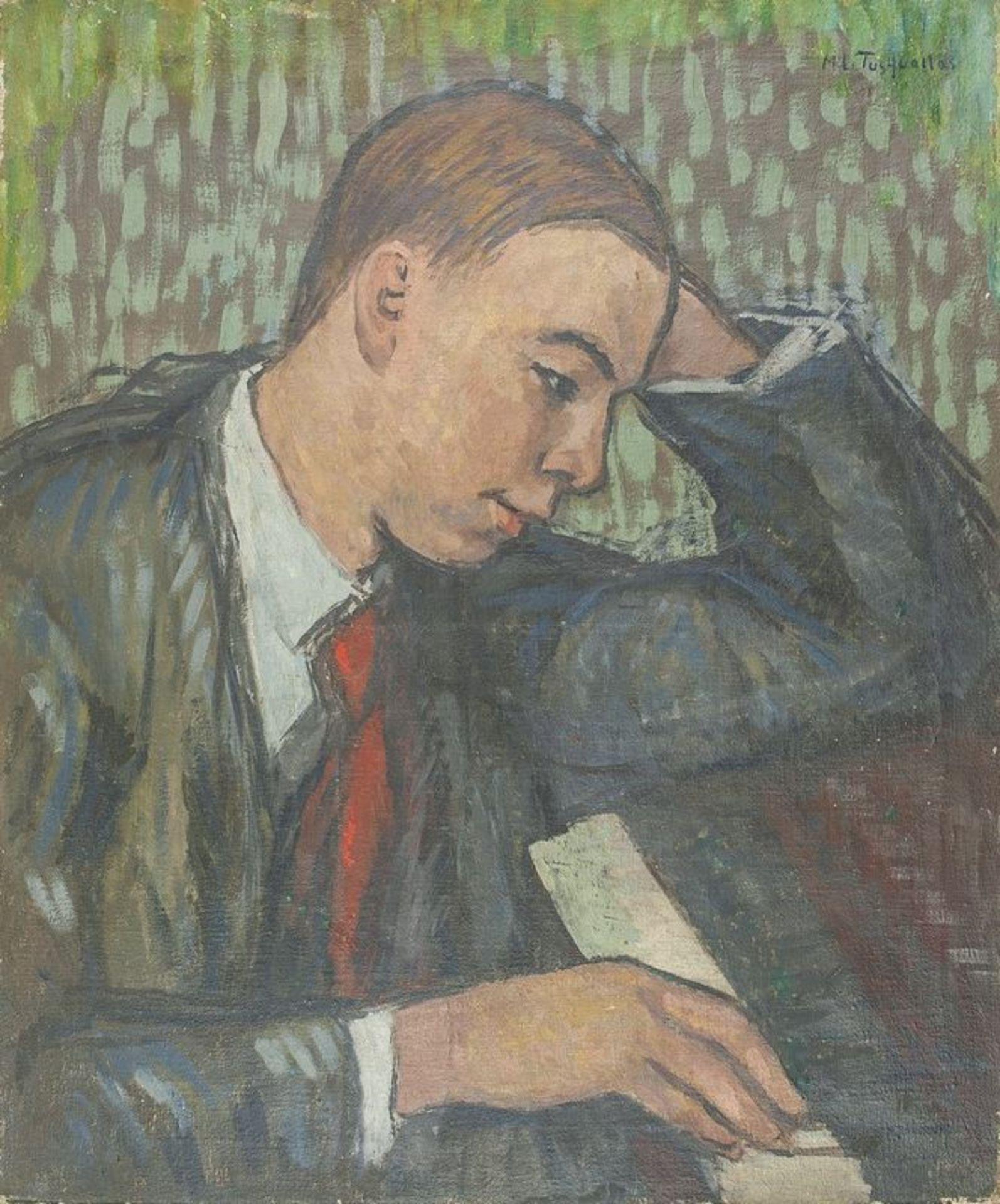MIGUEL TUSQUELLAS CORBELLA (1884-1969) Pianist - Signed 'A Eversen' (lower [...]