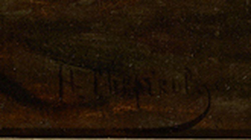NIKOLAI SVERCHKOV (1817 - 1898), The weary traveller signed in Cyrillic (lower [...] - Image 3 of 3