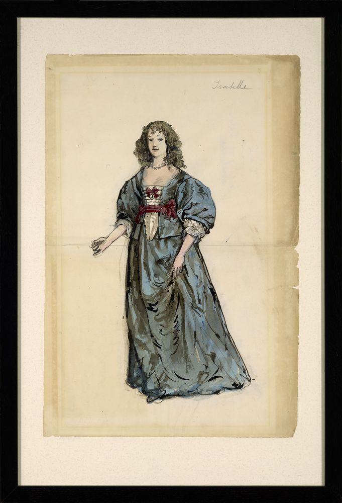 ALEXANDRE BENOIS (1870-1960), Isabelle inscribed 'Isabelle' (upper [...] - Image 2 of 2