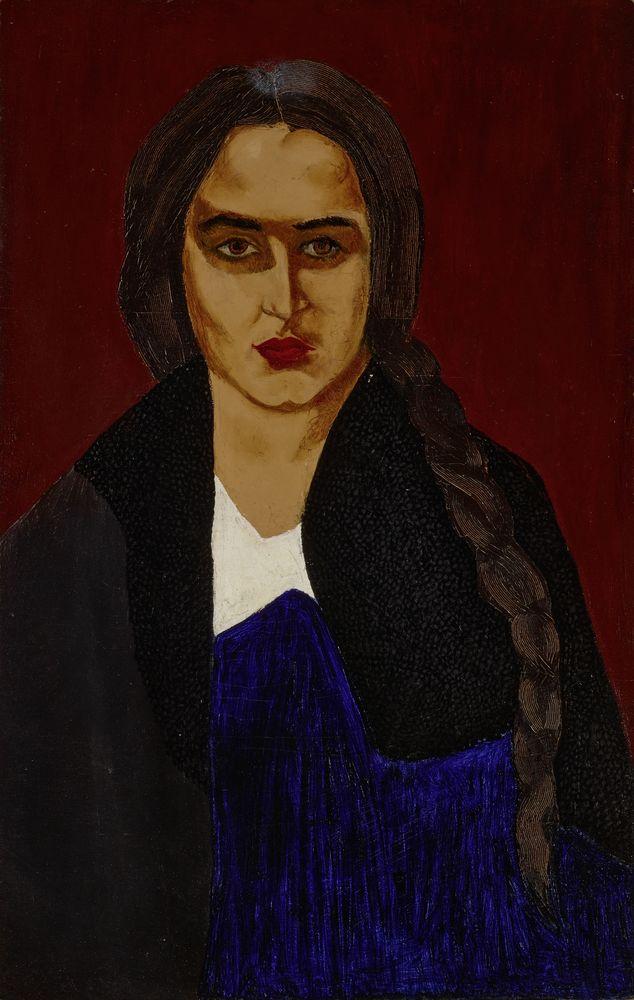 DAVID SHTERENBERG (1881-1948), Portrait of the artist's sister (Malka [...]