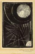 ALEXANDER RODCHENKO (1891-1956), Untitled Linocut 16.5 x 11 cm circa in [...]