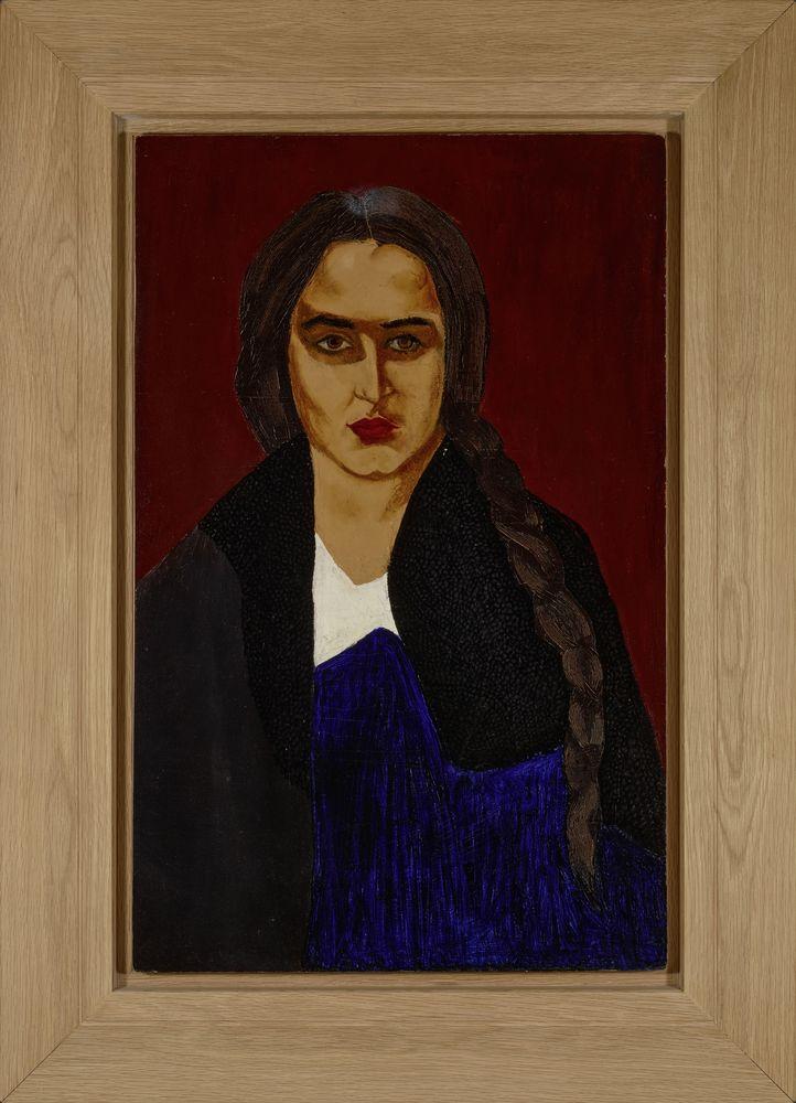 DAVID SHTERENBERG (1881-1948), Portrait of the artist's sister (Malka [...] - Image 2 of 2