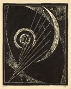 ALEXANDER RODCHENKO (1891-1956), Untitled Linocut 16.5 x 11 cm circa 1918-1919 very [...]