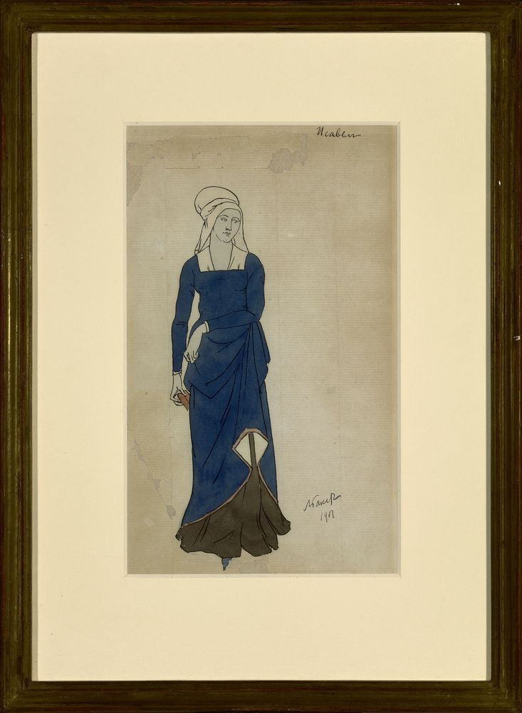 LEON BAKST (1866-1924), Costume design for Don Juan. Isabelle signed and dated 1901 [...] - Image 2 of 2