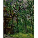 BORIS ANISFELD (1878-1973), Park in Evanston signed and dated 'Borits Anissfeld [...]