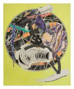 FRANK STELLA (B. 1936) - The Whale as a Dish Silkscreen, litograph, colour linocut, [...]