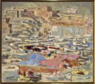 ALEXANDRE SACHA GARBELL (1903-1970) - Port de Marseille Signed and dated 'Garbell [...]