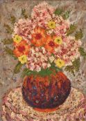 RIFKA ANGEL (1899-1988) - A colourful arrangement Signed and dated 'Rifka Angel [...]