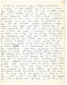 JEAN-PAUL SARTRE (1905-1980) - Existentialist writer. Autographed manuscript, [...]