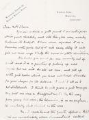 """ARTHUR CONAN DOYLE (1859-1930) - Autograph Letter Signed and envelope. A.L.S. """"A. [...]"""