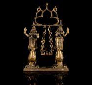 An Indian Brass Shrine