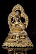 A Gilt Bronze Figure of Chakrasamvara and Vajrayogini.