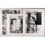 FOTOGRAFIEKonvolut moderner Fotografien 3-tlg.; Untersch. Techniken auf Papier, darunter schwarz-