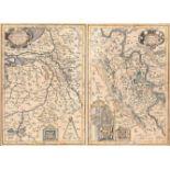 GRAFIKMürs Comitatus Kupferstich auf Papier, coloriert. Druckmaß 36 x 49 cm, Sichtmaß 37 x 51 cm.