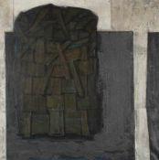 ERWIN EICHBAUM1928 Düsseldorf - 2017 ebenda'GROSSER KORB' (1961) Öl auf Leinwand. 100,5 x 100,5