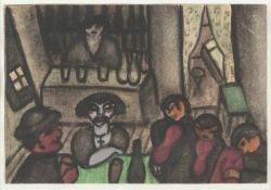 ARMAND BOUTEN1893 Venlo - 1965 AmsterdamIN DER KNEIPE (1938) Aquarell über Bleistift auf