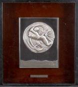 SALVADOR DALÍ1904 Figueres, Girona - 1989 ebenda'EVA ESPACIAL' Italien, Arezzo, nach 1968 Silber,