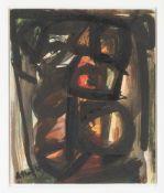 JEAN-MICHEL ATLAN1913 Constantine (Algerien) - 1960 ParisOHNE TITEL (1959) Aquarell auf Karton. 30,5