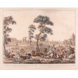 CARL FROSCH1771 Halle/Saale - 1827 Leipzig (?)'DIE LETZTEN GEFECHTE DER RETIRIERENDEN FRANZ. ARMEE