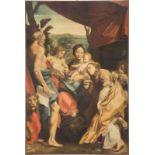 ANTONIO DA CORREGGIO (AUCH ANTONIO ALLEGRI) (SCHULE/WERKSTATT)1489 Correggio - 1534 EbendaMADONNA
