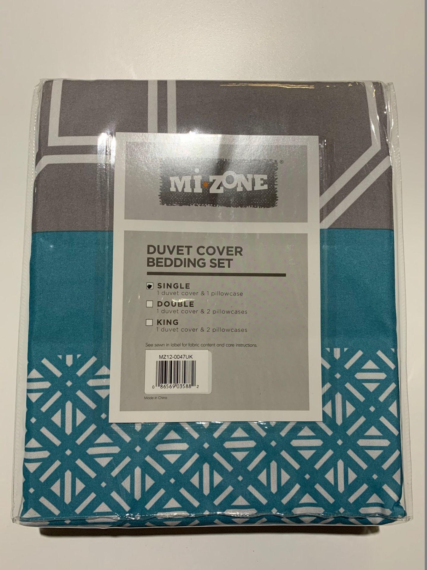 Lot 74 - 1 x Mi-Zone Clara Single Duvet Set - Product Code MZ12-0047UK (Brand New - RRP £21.99)