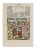 [BOOK ILLUSTRATION -- WOODCUTS]. -- [VERGILIUS MARO, Publius. Opera. Strassburg: Johannes  Gruning